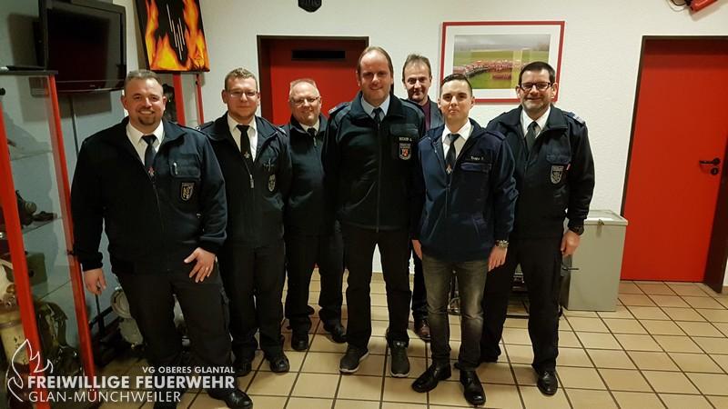 Führungswechsel bei der Feuerwehr Quirnbach