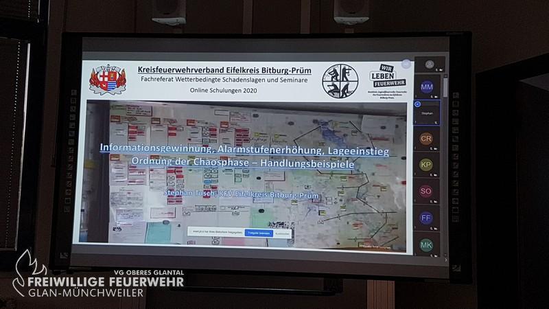 Onlinevortrag des Kreisfeuerwehrverband Bitburg-Prüm