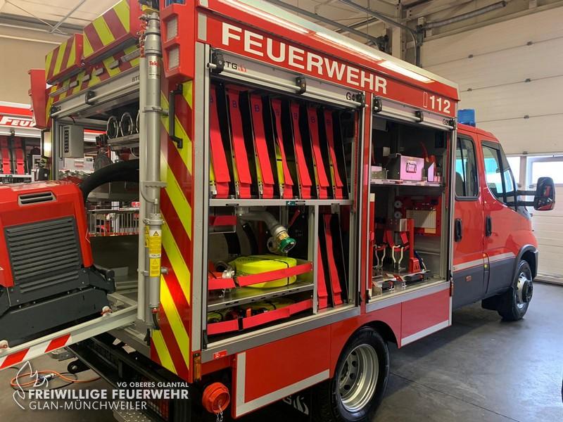 Neue Kleinlöschfahrzeuge in der VG Oberes Glantal