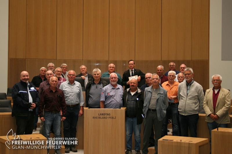 Besuch im Landtag in Mainz