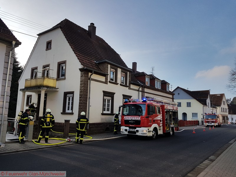 Kaminbrand in Herschweiler-Pettersheim