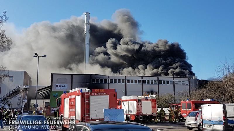 Großbrand, Otterberg