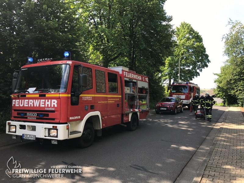 Wohnungsbrand, Herschweiler-Pettersheim