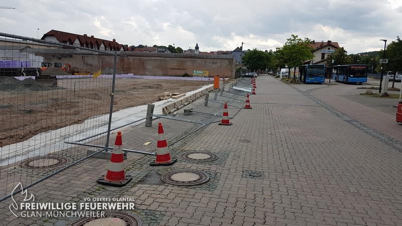 Absicherung, Glan-Münchweiler