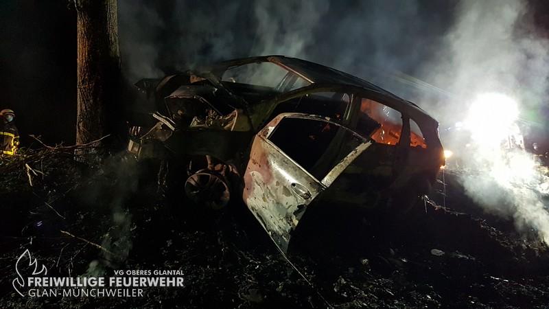 Fahrzeugbrand klein, K19