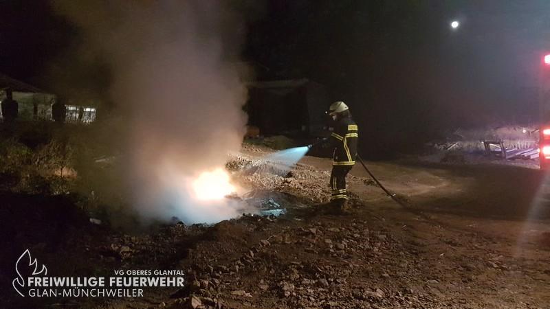 Flächenbrand groß, Matzenbach