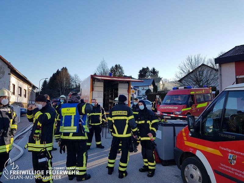 Gebäudebrand, Hinzweiler