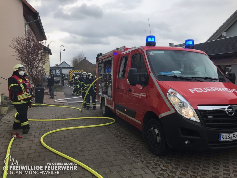Gebäudevollbrand, Steinbach am Glan