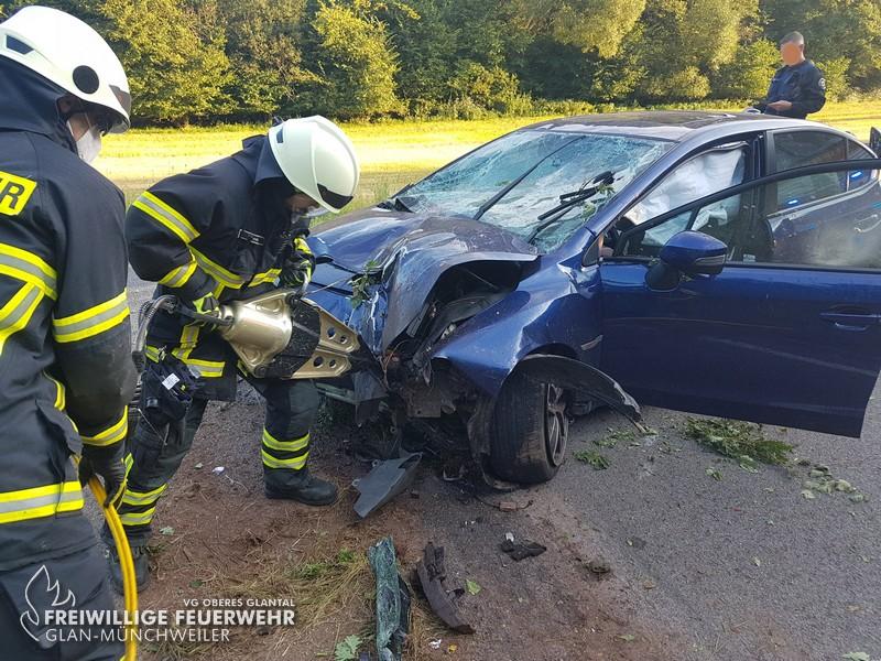 Verkehrsunfall K 59, Nanzdietschweiler